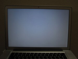 macbook gray screen